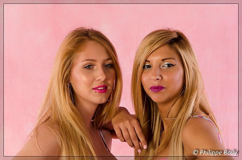 Gwen et Morgane